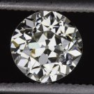VINTAGE 0.69ct I VS2 OLD EUROPEAN CUT DIAMOND EGL-USA CERTIFIED LOOSE ANTIQUE