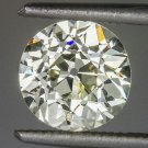 ANTIQUE 1.30ct N VS1 EGL-USA CERT OLD EURO CUT LOOSE DIAMOND ENGAGEMENT DECO OEC