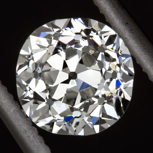 VINTAGE IDEAL CUT 0.91ct OLD EUROPEAN G SI1 DIAMOND EGL-USA CERTIFIED LOOSE 1ct