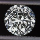 VINTAGE 1ct G SI1 OLD EUROPEAN CUT DIAMOND EGL-USA CERTIFIED LOOSE ROUND 1 CARAT