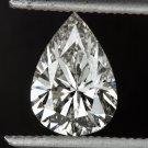 1 CARAT PEAR SHAPE DIAMOND EGL-USA CERTIFIED G SI2 LOOSE TEAR DROP NATURAL 1ct