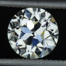 1900s VINTAGE 0.71c OLD EUROPEAN CUT DIAMOND I VS2 LOOSE EGL-USA CERTIFIED ROUND