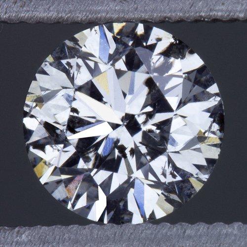 3/4ct ROUND BRILLIANT IDEAL CUT DIAMOND  F COLOR 0.75ct NATURAL LOOSE PENDANT EX