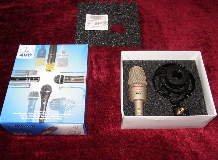 AKG C3000B Microphone