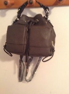 Zara backpack with front pockets BNWT black  M