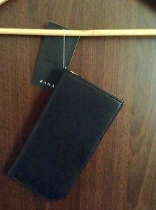 ZARA Men XLarge Wallet BNWT black