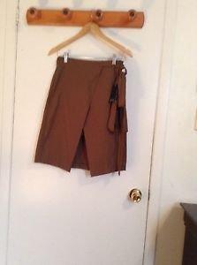 Zara Khaki Sarong Wrap Skirt BNWT 2015