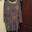 Zara Oversize Printed Crepe  Dress BNWT L