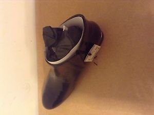 ZARA WOMAN ANKLE BOOTS WITH METAL DETAILS BNWT BLACK US 9