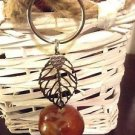 Lucky Charm Keychain Buckeye Handmade