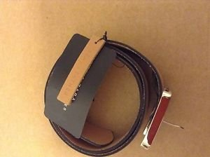 Zara BLOGGERS FAV LEATHER SQUARE BUCKLE BNWT 34
