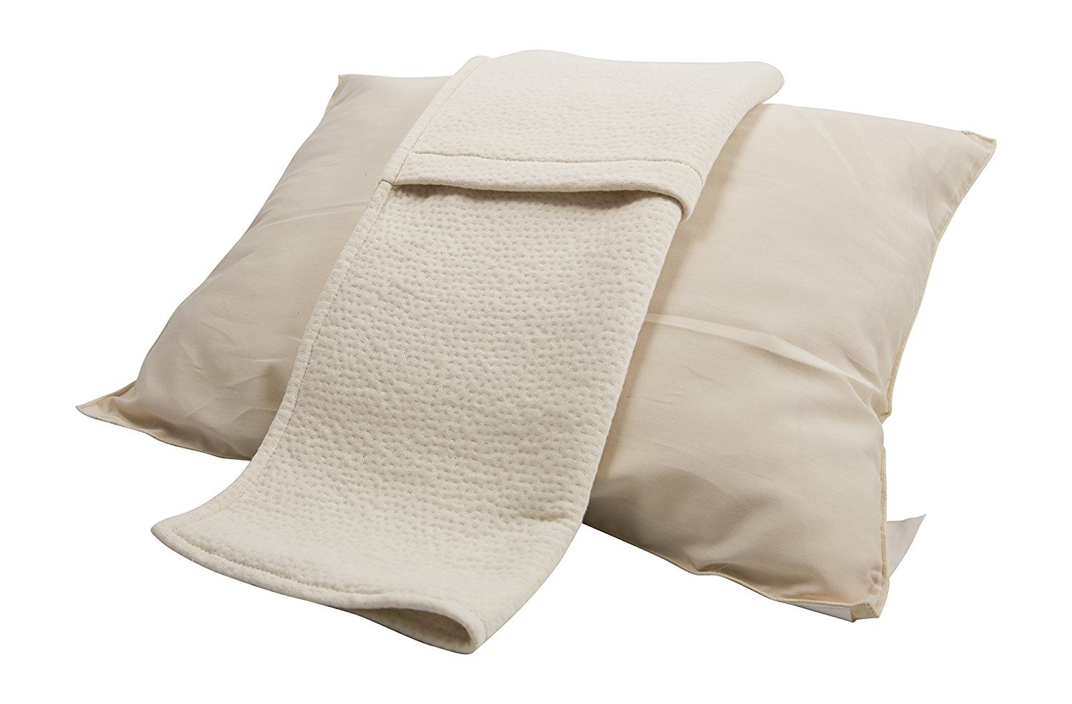 """Organic Rubber Pillow, All Natural & 100% Certified, Hypoallergenic Standard 20"""" x 26"""""""