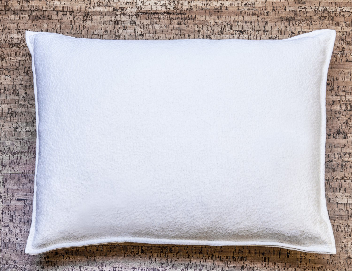 "Organic Rubber Pillow, All Natural & 100% Certified, Hypoallergenic Queen Size 20""x30"""