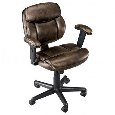 Brenton Studio Ariel Low-Back Task Chair, Brown