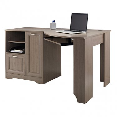 Realspace Magellan Collection Corner Desk, Gray