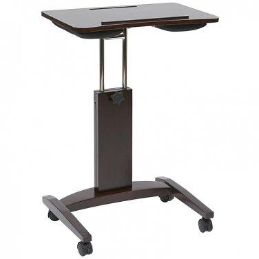 "Office Star Laptop Cart, 38""H x 23""W x 16 15/16""D, Espresso"