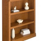 Realspace Premium Bookcase, 3-Shelf, Carolina Oak
