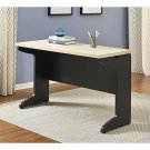 Ameriwood Home Pursuit Bridge Table, Natural/Gray