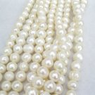 9-10mm ringed real pearl  loose strand in wholesale,01004XC