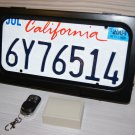 AvaParts License Plate Hider USA type 1pc in set