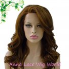 free shipping Synthetic 18inch umber lace front wig