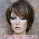 2017 hight quality synthetic fashional mono top wig for women