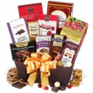 Bake chocolate cookies giftbasket
