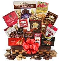 Classic chocolate giftbasket premium