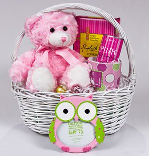 Baby shower giftbasket