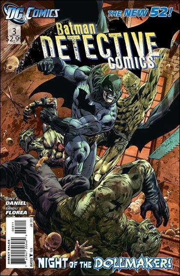 DETECTIVE COMICS # 3 VOLUME 2 NEW 52