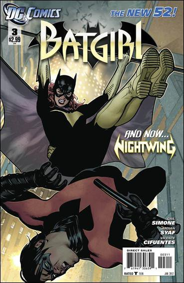 BATGIRL # 3 (2013)  THE NEW 52