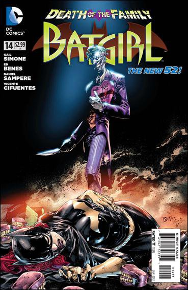 BATGIRL # 14 DEATH OF THE FAMILY THE NEW 52
