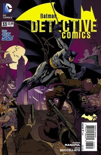 Detective Comics #33 [2014] VF/NM *The New 52* 75 year anniversary Batman variant