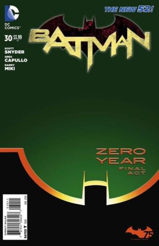 Batman #30 Zero Year [2013] VF/NM *The New 52*