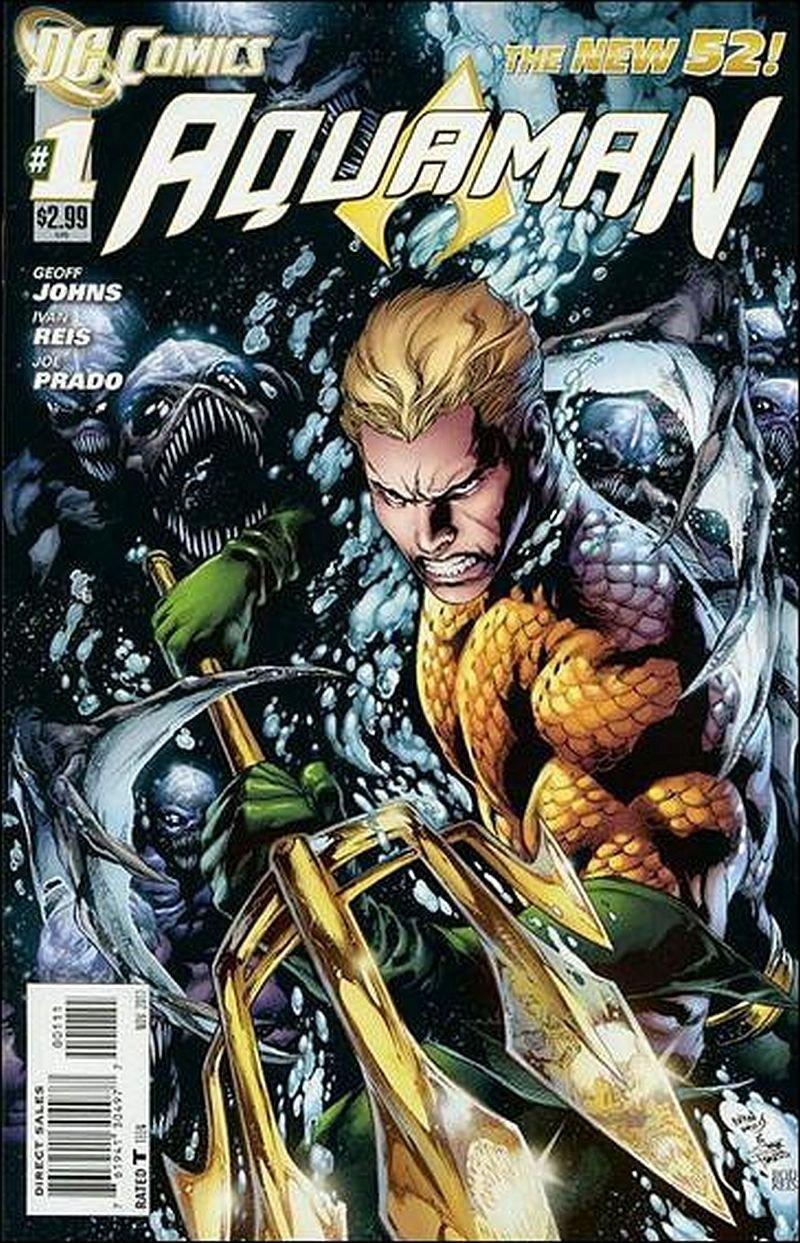 Aquaman #1 [2011] VF/NM *The New 52*