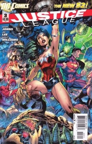 Justice League #3 [2012] VF/NM DC Comics *The New 52*