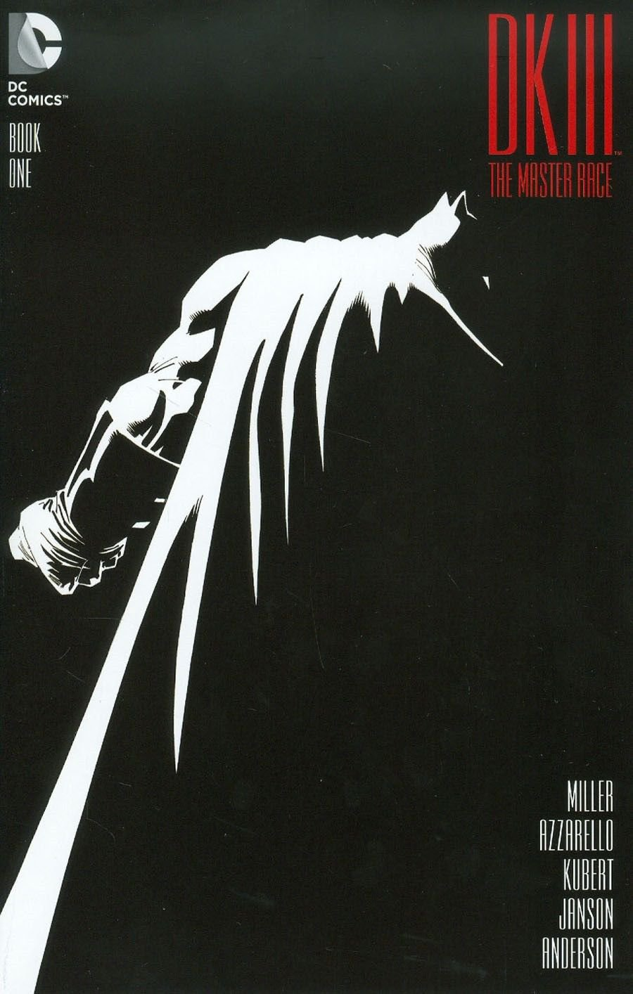 Dark Knight III The Master Race #1 [2016] VF/NM DC Comics