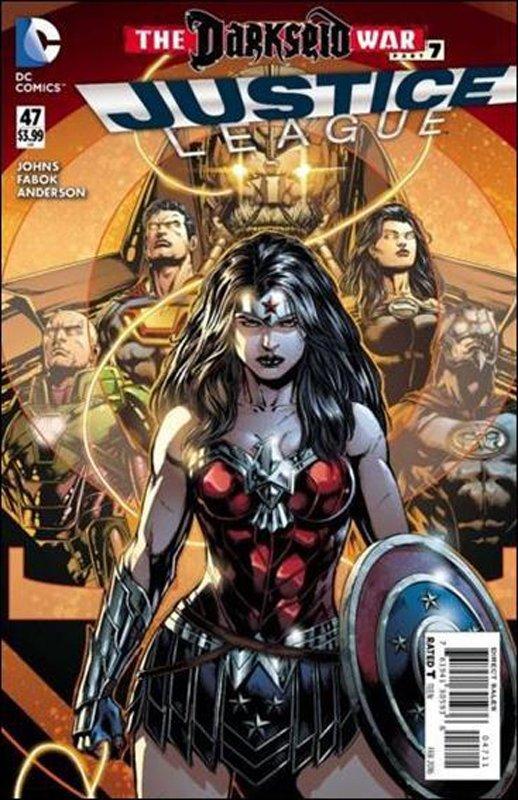 Justice League #47 [2016] VF/NM DC Comics