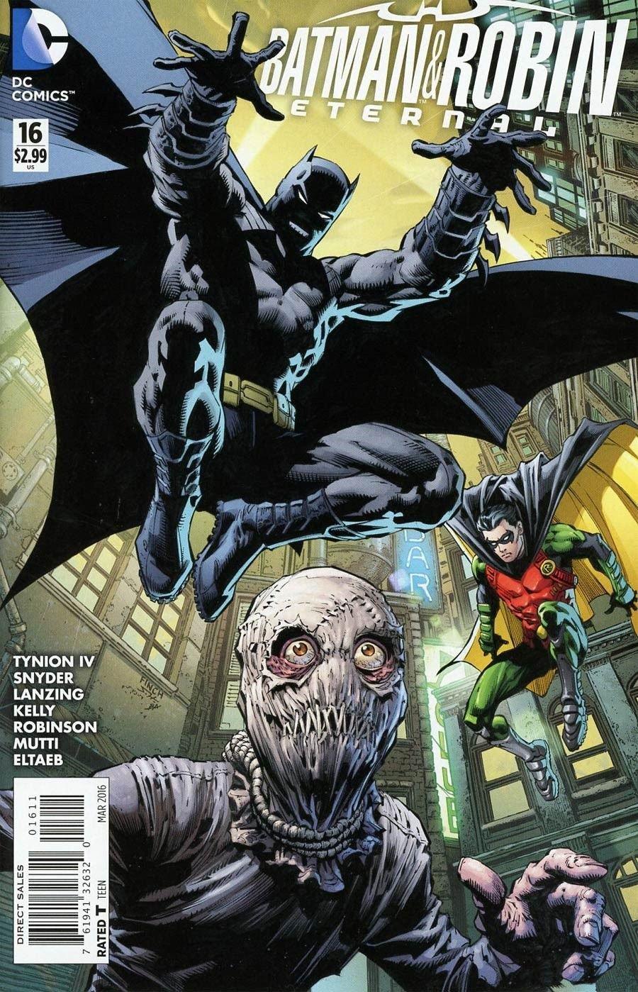 Batman & Robin Eternal #16 [2016] VF/NM DC Comics