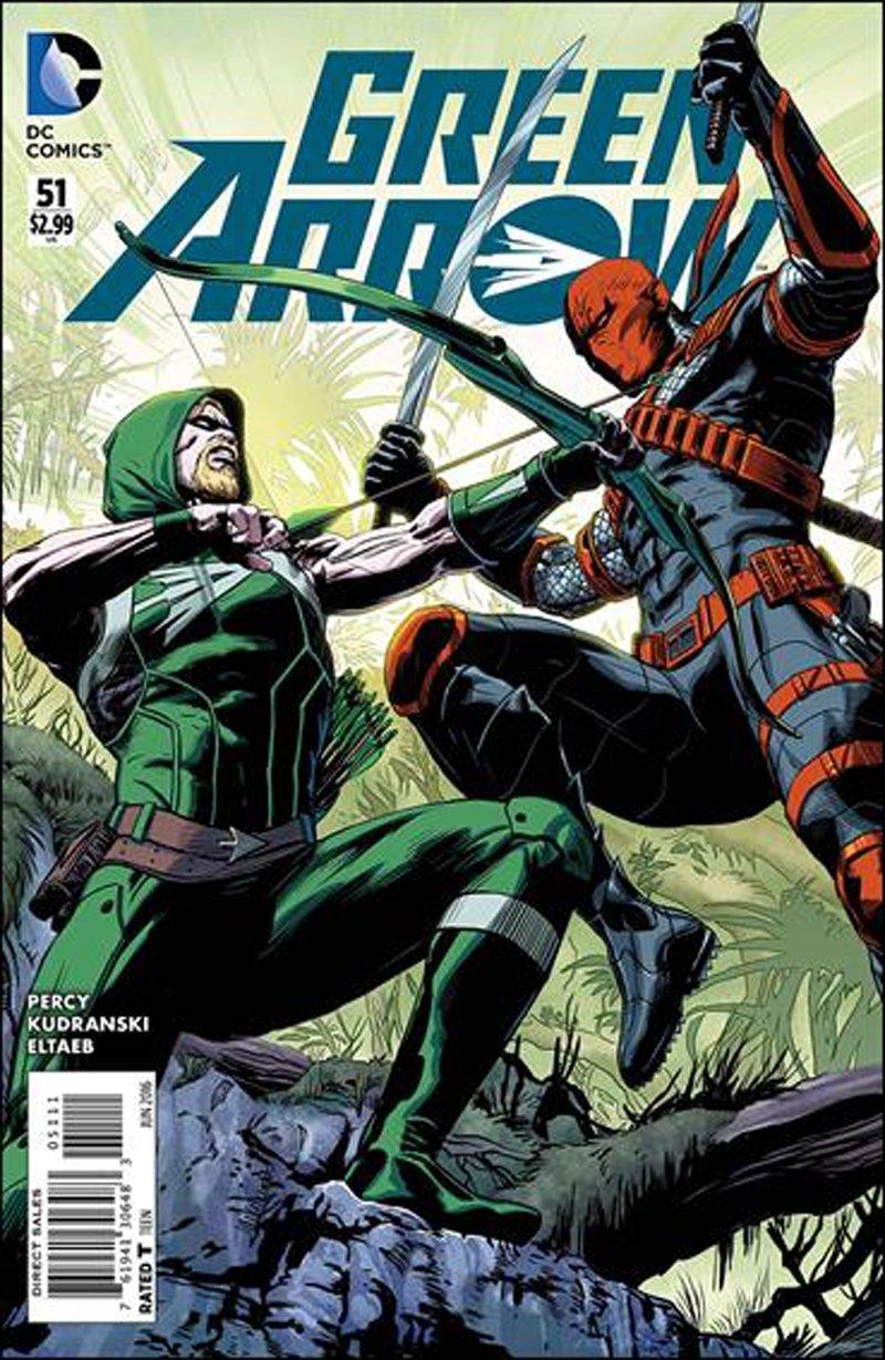 Green Arrow #51 [2016] VF/NM DC Comics