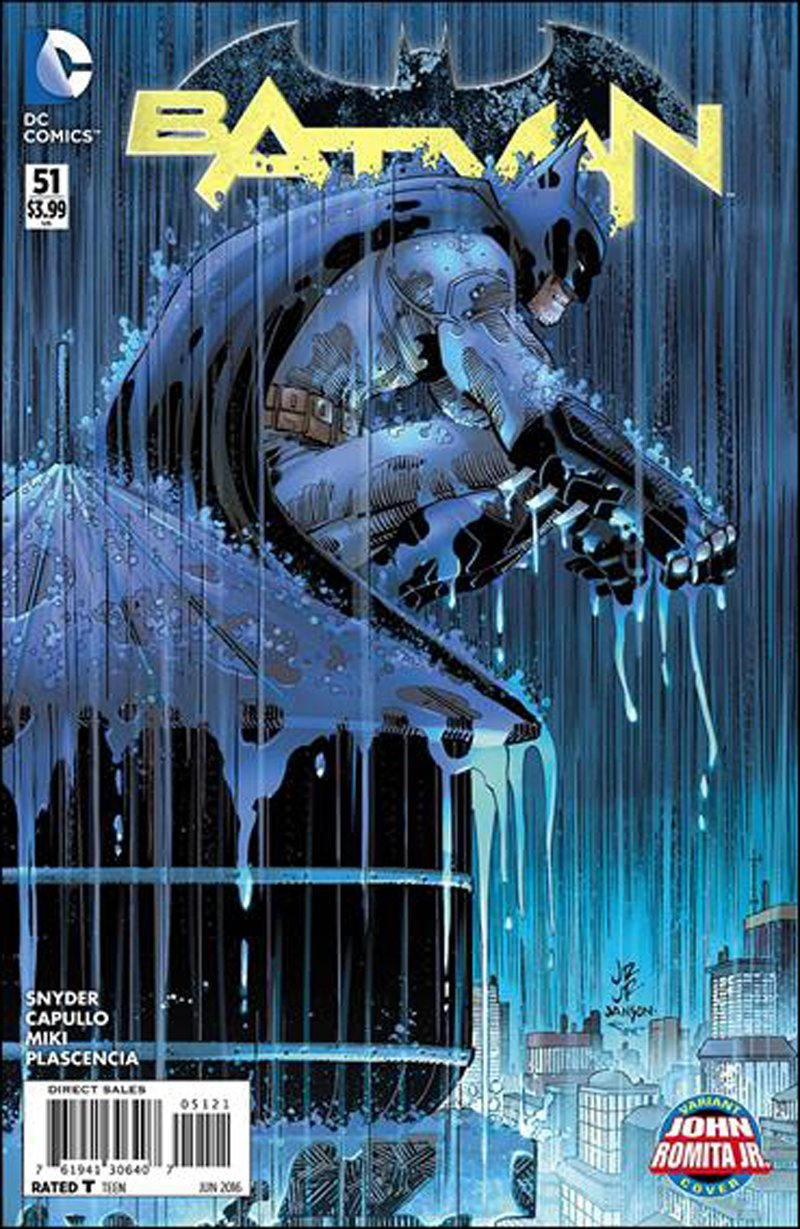 Batman #51 John Romita Jr. Variant Cover [2016] VF/NM DC Comics