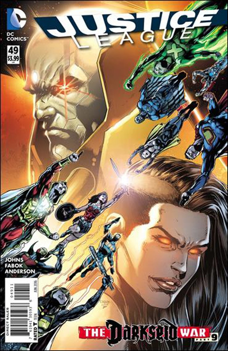 Justice League #49 [2016] VF/NM DC Comics