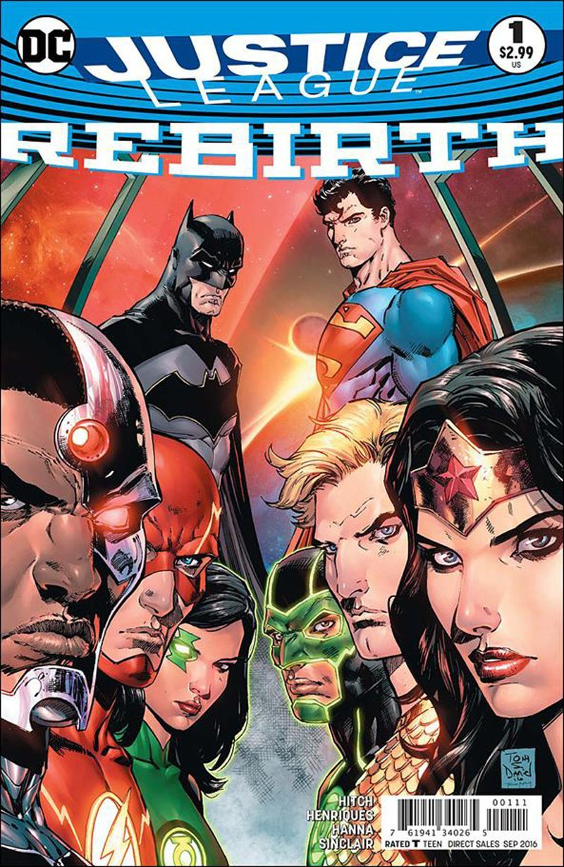 Justice League: Rebirth #1 [2016] VF/NM DC Comics
