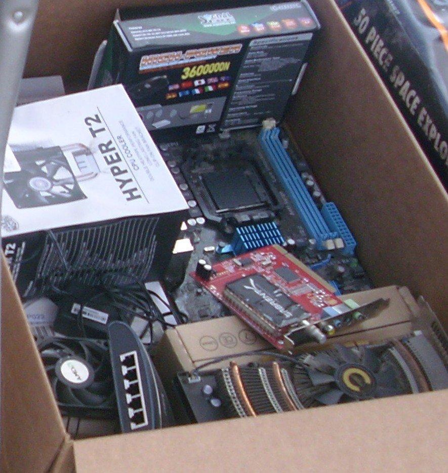 Computer Parts Lot 01