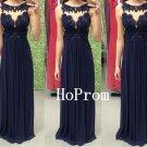 Sleeveless Prom Dress, Long Prom Dresses,Black Evening Dress