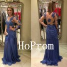 Long Sleeve Prom Dress,Applique Prom Dresses,Long Evening Dress