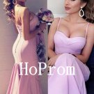 Pink Sheath Prom Dress,Sexy Prom Dresses,Long Evening Dress