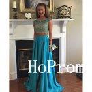 Cap Sleeve Prom Dress,Beading Prom Dresses,Long Evening Dress