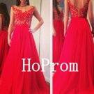 Applique Prom Dress,A-Line Prom Dresses,Evening Dress