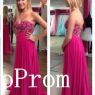 Sweetheart Prom Dress,Beading Prom Dresses,Evening Dress